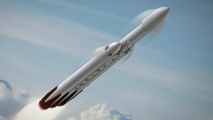 Американцы отправились в космос с помощью батута