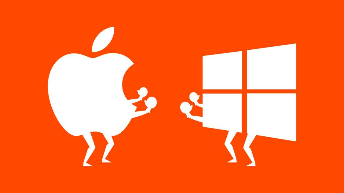 Microsoft & Apple -  заклятые друзья берут реванш